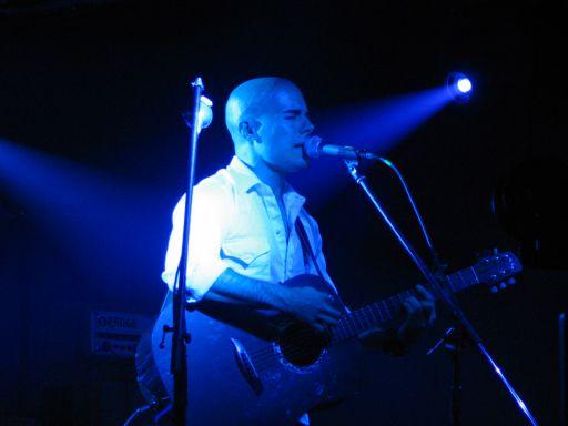 Arthur Yoria performing at the Katrina Relief fundraiser.