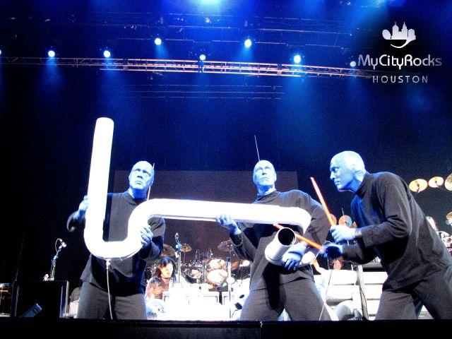 MyCityRocks™ HOUSTON - Tracy Bonham and Blue Man Group ...