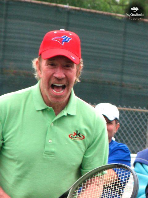 Tennis - Chuck Norris